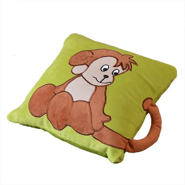 Подушки с обезьянками своими